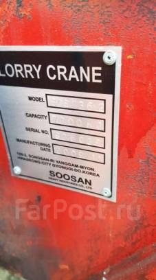 Продам кран Soosan 736L2 7000кг 20 метров вылет