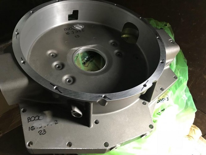 Крышка корпус маховика Daewoo Novus Дэу Новус DL06 65.01401-0269A 65014010269a